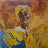 mama in yellow