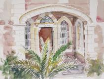old arab house