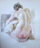 kneeling back